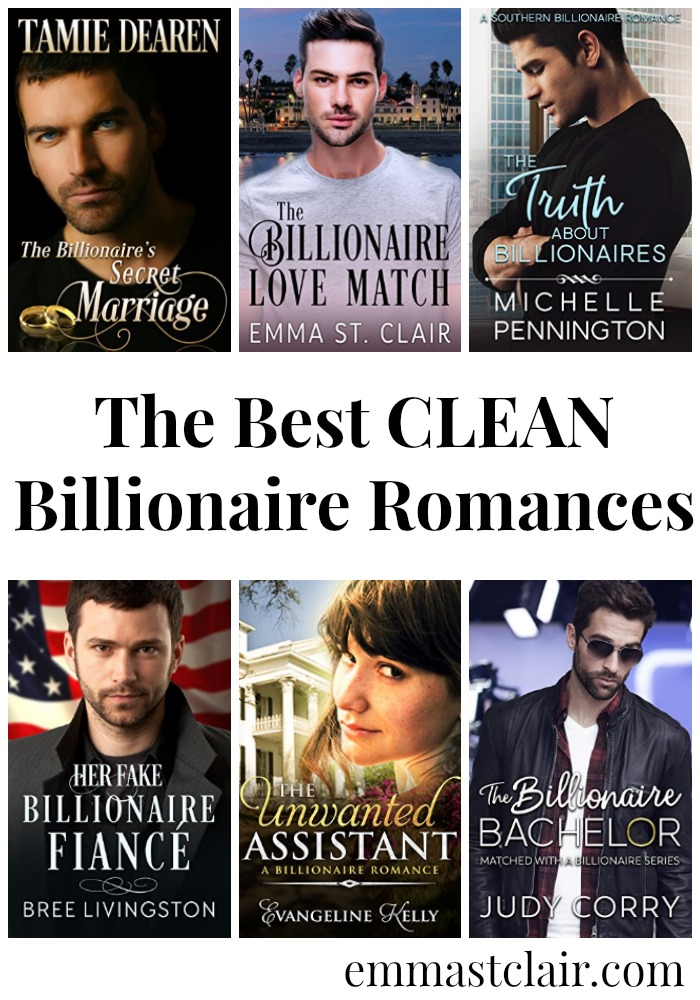 These clean billionaire romance novels will keep you turning the pages long past midnight! Don't miss these great reads.