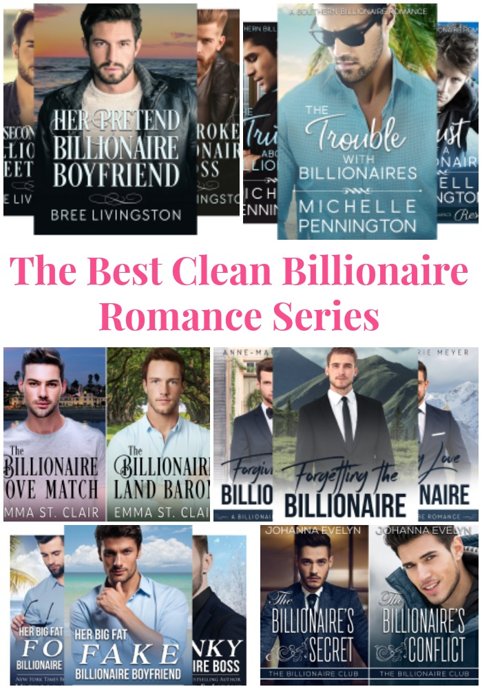 Love clean billionaire romance books? This post shares the top billionaire romance series you'll want to read NOW!