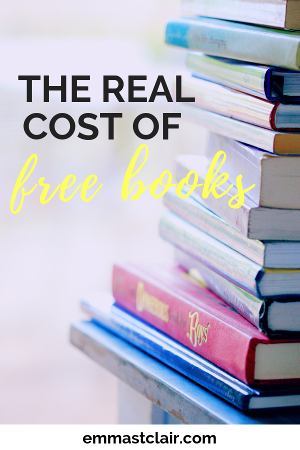 There is no such thing as free. A look inside the costs and VALUE of books.